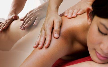 60-ti minutová masáž s 62% slevou! Na výběr z 8 druhů masáží, které dodají sílu každé části vašeho těla a zregenerují unavenou mysl! Cena 249 Kč pro každého z vás!