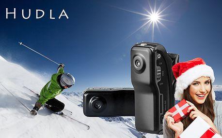 Mini kamera na Vánoce