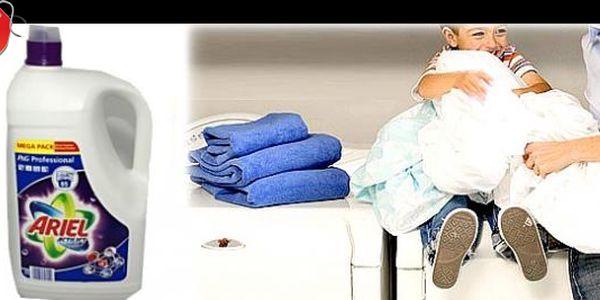 Prací gel ARIEL ACTILIFT COLOR&STYLE 4,745 l se slevou 44 %: Objevte ryzí čistotu praní a ušetřete vodu a energii. Vaše barevné prádlo bude perfektně vyprané a krásně vonět.