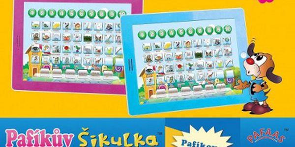 Dětský tablet Pafíkův Šikula jen za 185 Kč + dárek! Varianta pro kluky i holky!