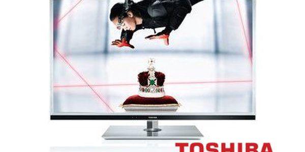 Jen 19999 Kč za 3D LED Full HD LCD televizor s úhlopříčkou 107 cm! Prověřená značka TOSHIBA!