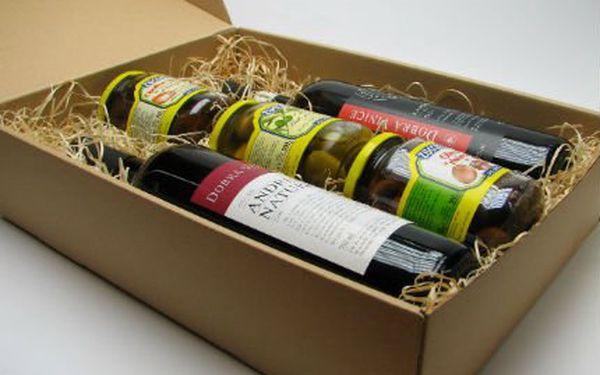 Francouzské delikatesy a 2 vína! Cibulky, olivy, sušená a nakládaná rajčata 2 vína!