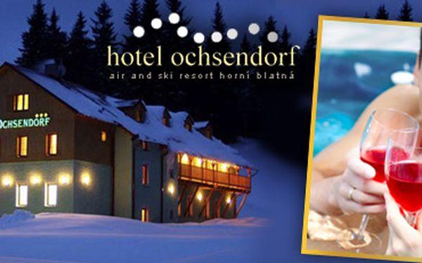 Luxusní pobyt pro dva na 2 noci s polopenzí v Hotelu Ochsendorf**** v Krušných horách!
