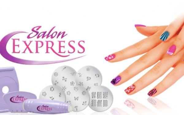 Populární NEHTOVÉ STUDIO Salon Express u Vás doma! Ozdobte si nehty sama s touto sadou za pouhých 99 Kč! Vaše nehty budou vždy perfektní a Vy ušetříte za manikérku!