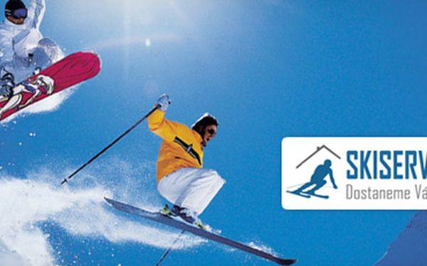 Profesionální servis lyží a snowboardů za poloviční cenu!