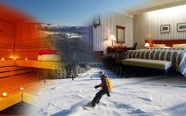 5 denní lyžařský pobyt v Mariánských Lázních pro 2 osoby s nabídkou 8 wellness procedur v Golf hotel Morris