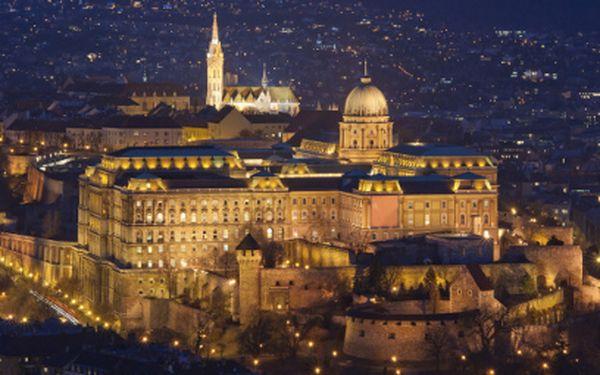 3 noci PRO DVA v Budapešti za 3999 Kč!