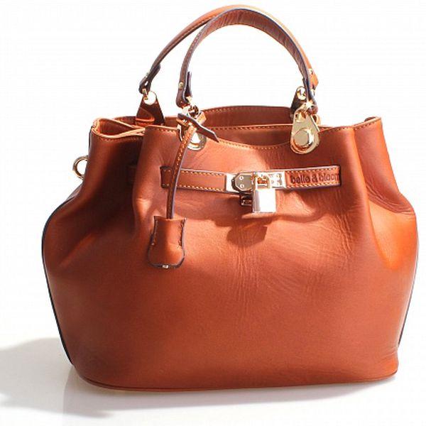 Dámská oranžovohnědá kabelka Belle & Bloom