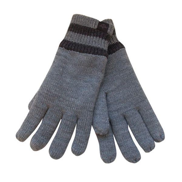 Pánské světle šedé rukavice Dockers