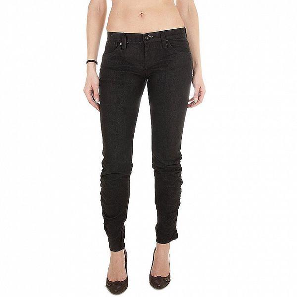 Dámské černé džíny Miss Sixty s nařasenými nohavicemi