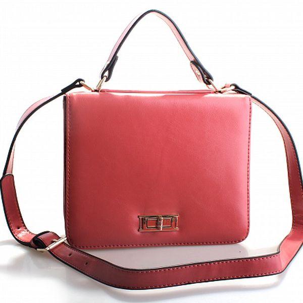 Dámská růžová kabelka Belle & Bloom