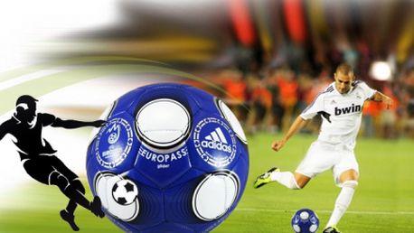 Pouhých 199 Kč za fotbalový míč ADIDAS vyrobený z odolného TPU nylonu! Přesná replika verze hracího balonu, který byl použit při Euro 2008 v Rakousku / Švýcarsku se skvělou slevou 50%! Osobní odběr ZDARMA!