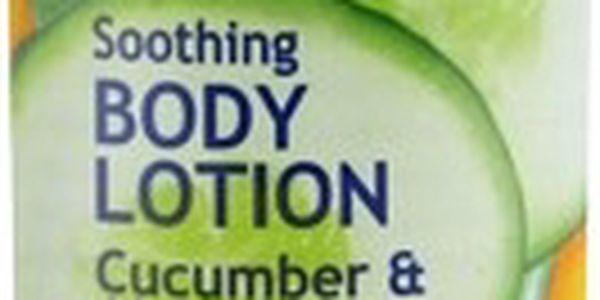 Freeman Zklidňující tělové mléko s okurkou a aloe vera (Soothing Body Lotion Cucumber & Aloe Vera) 400 ml