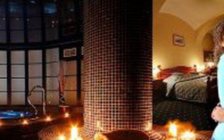 3 denní romantický balíček s wellness procedurami a SKLÁŘSKOU SHOW, wellness hotel Morris ****