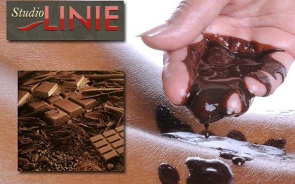 Čokoládová masáž s peelingem a zábalem za 390Kč