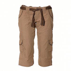 Dámské světle hnědé ¾ kalhoty Sherpa