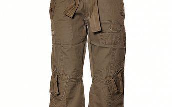 Dámské šedohnědé ¾ kalhoty Sherpa