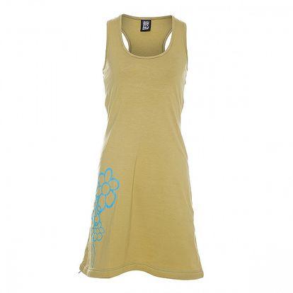 Dámské hořčicové tílkové šaty Rejoice