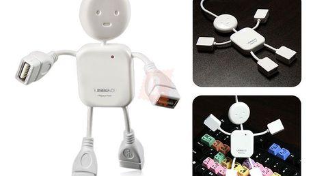 USB Hub ve tvaru panáčka - rozbočovač PRODLOUŽENO!