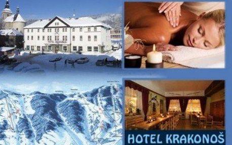 Krkonoše na 3 nebo 4 dny PRO DVA! SKIPAS a malebná krajina jako stvořená pro zimní sporty!