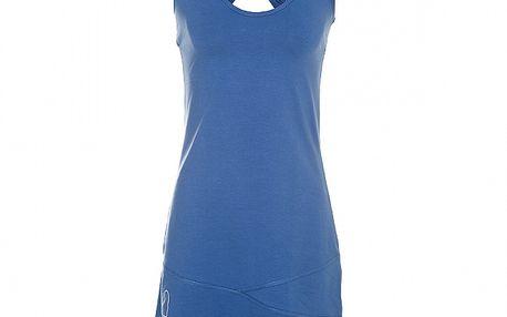 Dámské šedomodré tílkové šaty Rejoice s překříženými ramínky