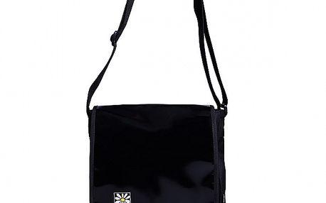 Černá taška s klopou Rejoice