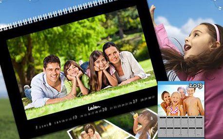 Fotokalendáře s vaší fotografií Pořiďte si kalendář s vlastními vzpomínkami již za 99 Kč!