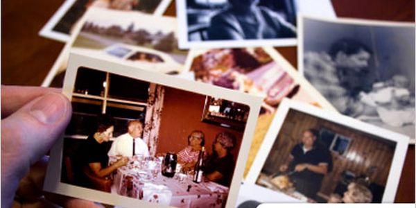 Uchovejte své vzpomínky navěky. Vyvolání 100 fotek, jedna za 1,99 Kč!