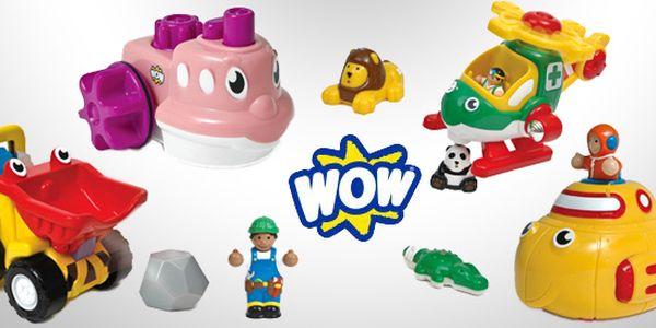 Natahovací hračky WOW do vany i pokojíčku