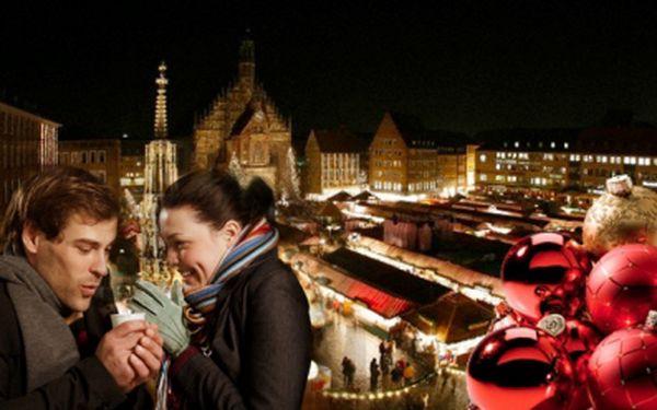 Jednodenní POZNÁVACÍ ZÁJEZD do NORIMBERKU v termínu 1.12. nebo 8.12.2012 s návštěvou vánočních trhů za pouhých 660 Kč! Průvodce a doprava autobusem.