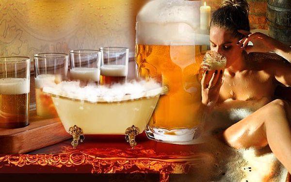 Wellness pobyt pobyt na 3 dny pro 2 osoby s pivními koupelemi v Orlických horách s polopenzí.