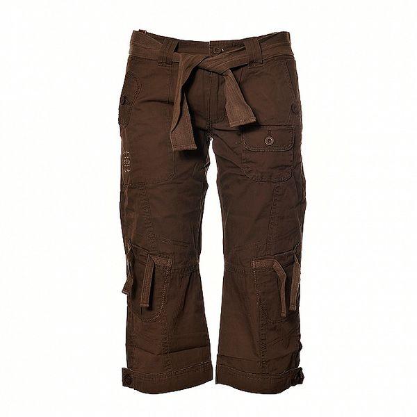Dámské tmavě hnědé ¾ kalhoty Sherpa