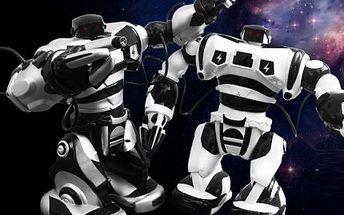 Inteligentní hračka Roboman! Robotická hračka na dálkové ovládání! Chodí, tančí, vydává zvuky!