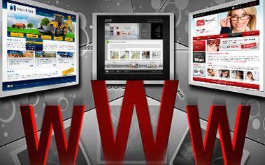 Jen 9000 Kč za tvorbu nových / moderních www stránek. Grafický návrh, naprogramování prezentace, sepsání textu, základní SEO optimalizace.