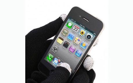 Rukavice pro dotykové displeje včetně poštovného jen za 199 Kč. Super tip na dárek, který vás zahřeje a dokonce s ním budete ovládat telefon a další vaše přístroje.