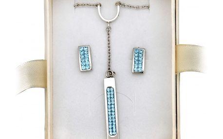 Originální souprava šperků Tribal s naúšnicemi a náramkem.