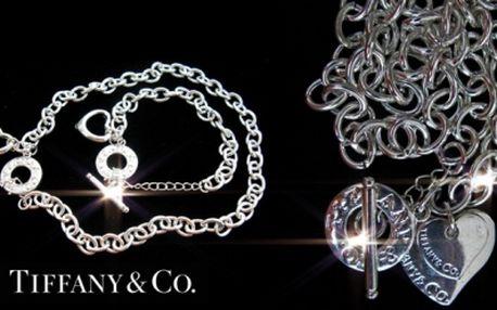Luxusní šperky Tiffany & Co. Style! Elegantní vánoční dárek jen za 299 Kč! Náhrdelník nebo set náhrdelníku s s náramkem ve stylu světoznámě značky s přívěskem srdíčka!
