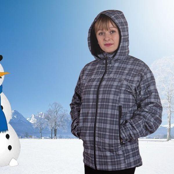 Dětská zimní bunda s odepínatelnou kapucí a nastavitelnými rukávy ve 3 barevných variantáchn