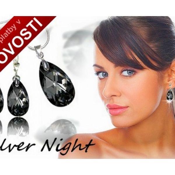 Luxusní famózní šperky se SWAROVSKI, náhrdelník a náušnice ve tvaru Kapky jen za 499,-Kč. Vybírejte ze třech luxusních odstínů. Rhodiovaná antialergení úprava, luxusní dárkové balení ZDARMA.