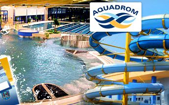 Aquadrom Most: kredit 1 200 Kč na bazén a saunu jen za skvělých 399 Kč!!
