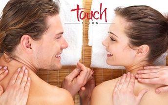 Hodinová partnerská masáž vonnými oleji