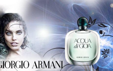 Exkluzivní nabídka! GIORGIO ARMANI Acqua di Gioia 100ml DÁMSKÝ PARFÉM za pouhých 1 086 Kč! Využijte jedinečné akce se slevou 40%! Perfektní dárek pod stromeček!