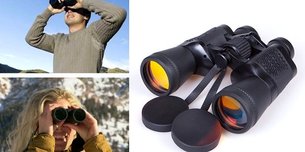 Dalekohled pro mnohostranné využití se zoomem 50 x 50 a filtrem denního světla.