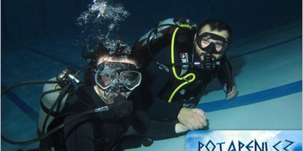 """Poznejte krásy podmořského světa. Kurz """"Poznej potápění"""" pro 2 za 995 Kč."""