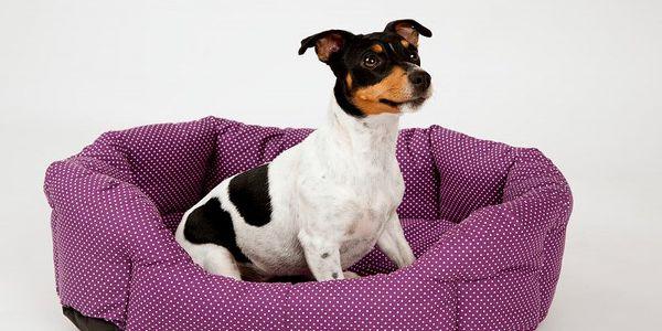 Pohodlný pelíšek pro zvířata z měkkého hřejivého materiálu