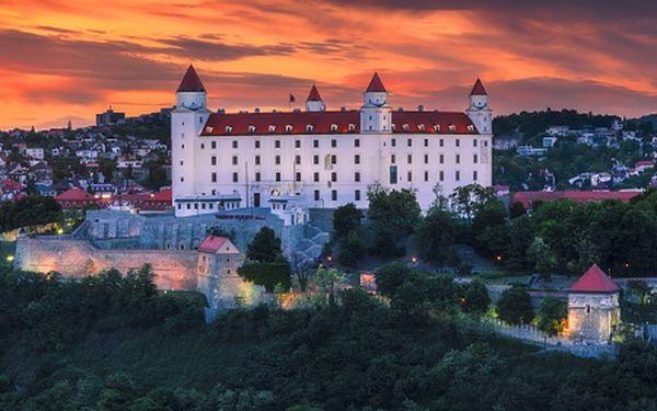 Bratislava pro DVA s wellness. Navštivte adventní trhy!