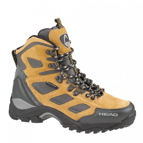 Pánské světle hnědé vysoké trekingové boty Head