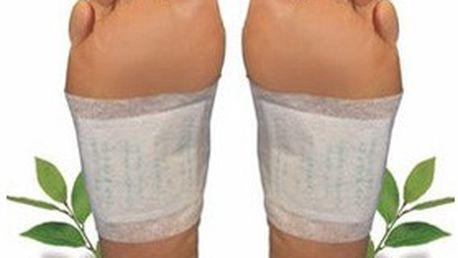 Kúra detoxu: balení 20 nebo 30 ks detoxikačních náplastí KINOKI pro bezpečnou a nenásilnou OČISTU těla