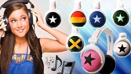 Stylová sluchátka Zumreed Mix-Style v 7mi designových variantách.