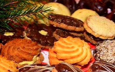 Domácí vánoční cukroví 9 druhů!